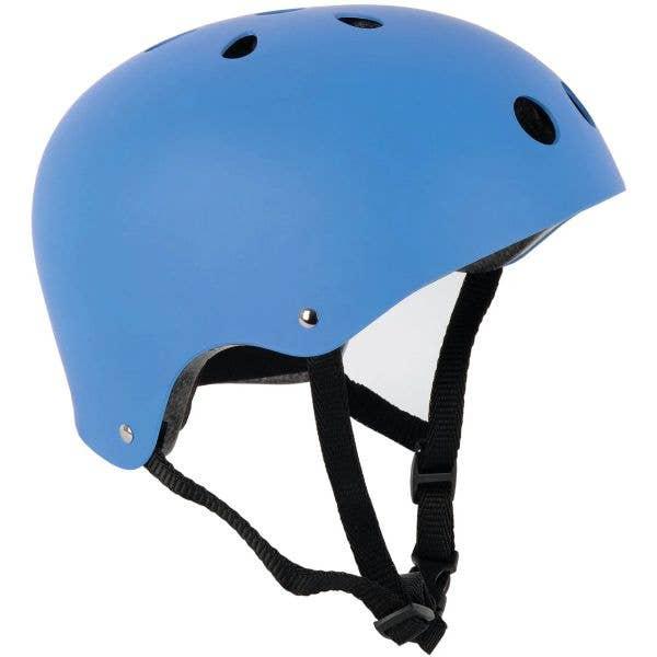 SkateHut Helmet - Matt Light Blue