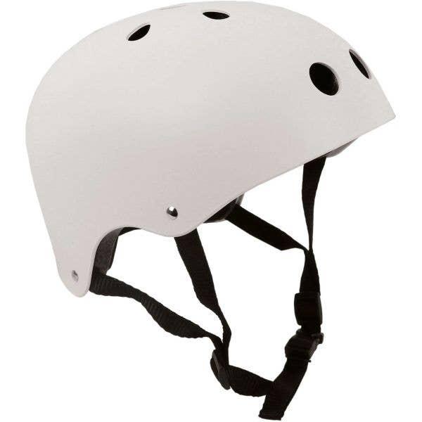 SkateHut Helmet - White