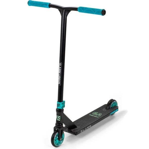 Slamm Urban V9 Stunt Scooter - Black/Teal