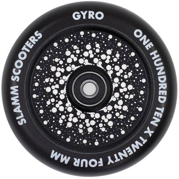 Slamm Gyro Hollow Core 110mm Scooter Wheel - Black