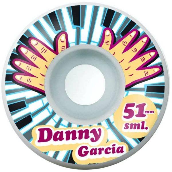 SML. Wheels Piano Hands Garcia Skateboard Wheels 51mm