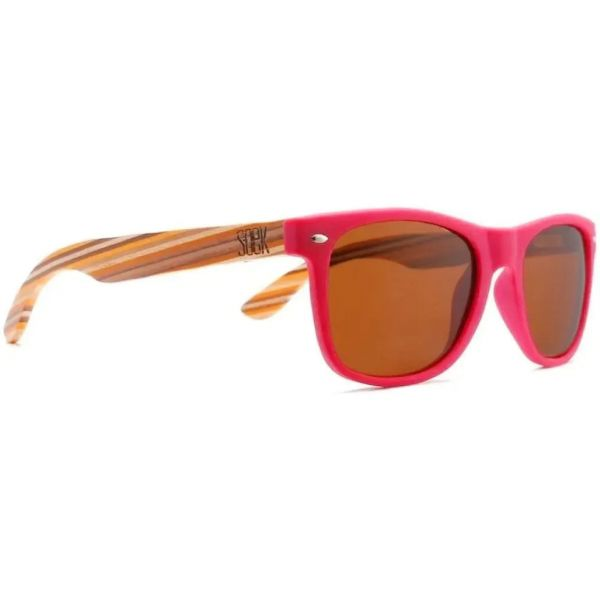 SOEK Avalon Polarized Sunglasses - Magenta Pink