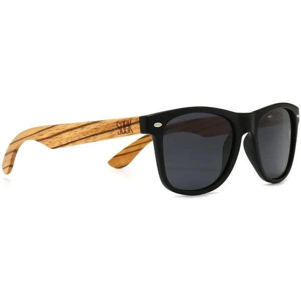 SOEK Balmoral Polarized Sunglasses - Black