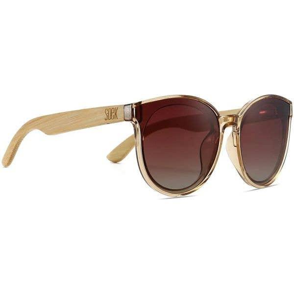 SOEK Bella Polarized Sunglasses - Champagne