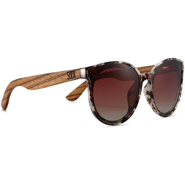 SOEK Bella Polarized Sunglasses - Ivory Tortoise