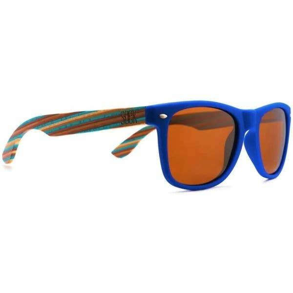 SOEK Bronte Polarized Sunglasses - Blue