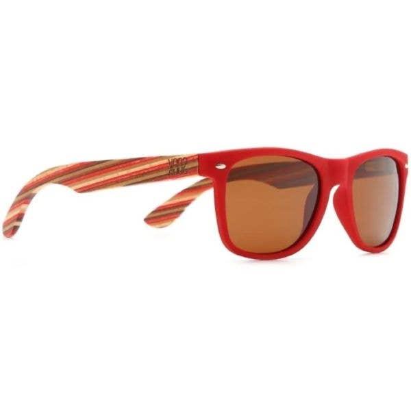 SOEK Cottesloe Polarized Sunglasses - Red