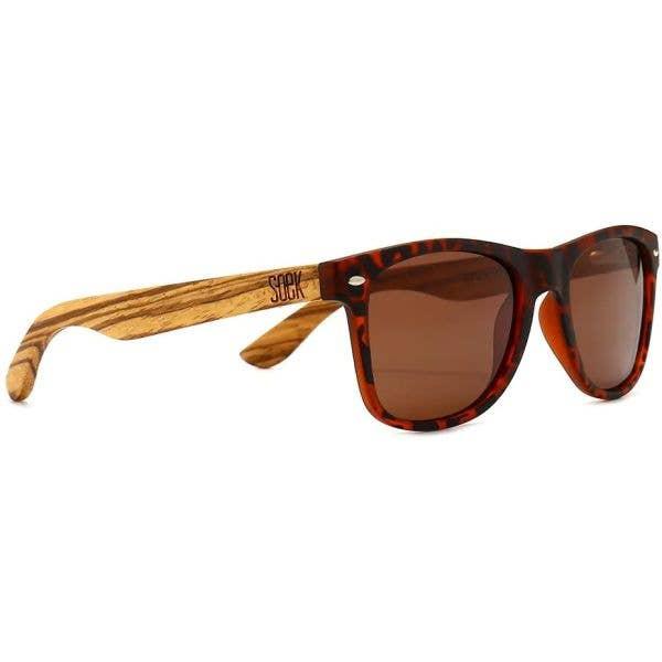 SOEK Avoca Walnut Polarized Sunglasses