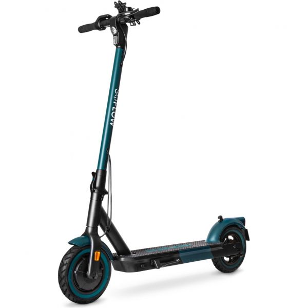 SoFlow S06 Electric Scooter - Black/Green