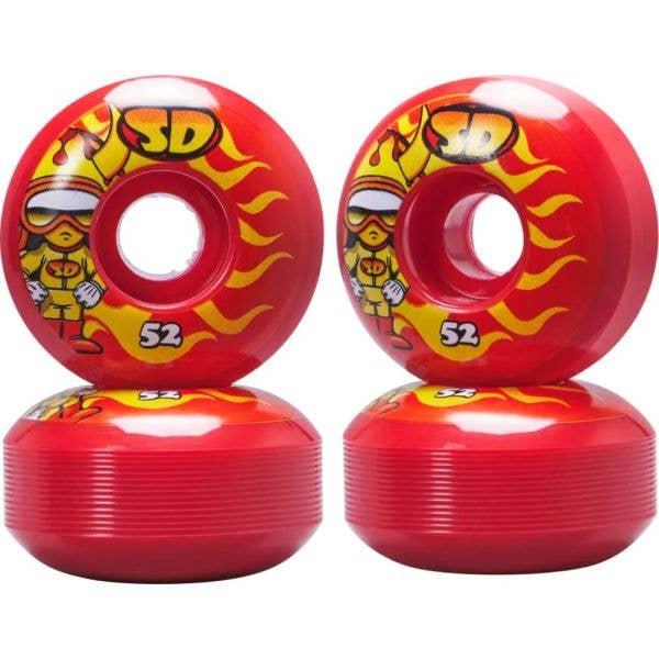 Speed Demons Characters Skateboard Wheels 51mm - Hot Shot