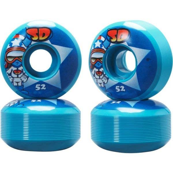 Speed Demons Characters Skateboard Wheels 53mm - Stars