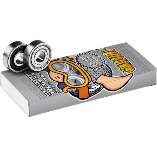 Speed Demons Skateboard Bearings ABEC 5 - Silver