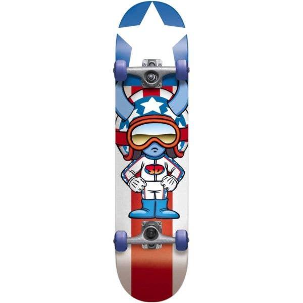 Speed Demons Stars Complete Skateboard - Multi 7.75''