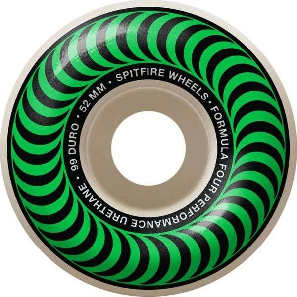 Spitfire Formula Four OG Classic 99a Skateboard Wheels - Natural 52mm (Pack of 4)
