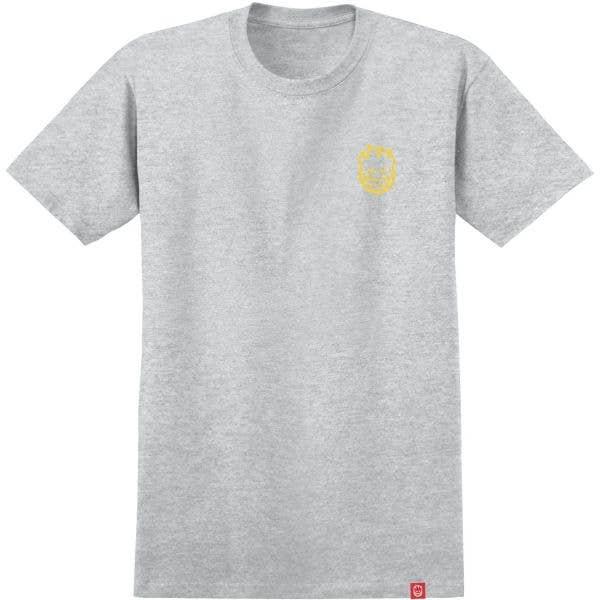 Spitfire Lil Bighead T Shirt - Athletic Heather/Gold