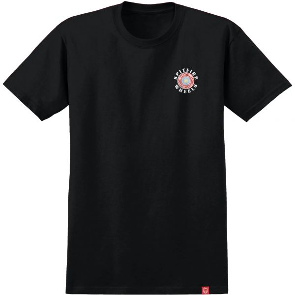 Spitfire OG Classic Fill T Shirt - Black/Multi-Colored