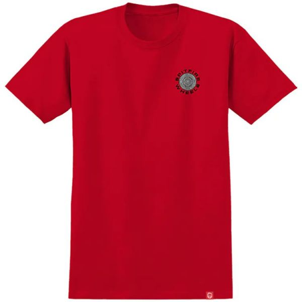 Spitfire Classic 87' Swirl T Shirt - Red/Black/White
