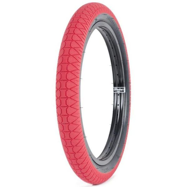 Subrosa Designer BMX Tyre - Red/Black Sidewall - 2.4''