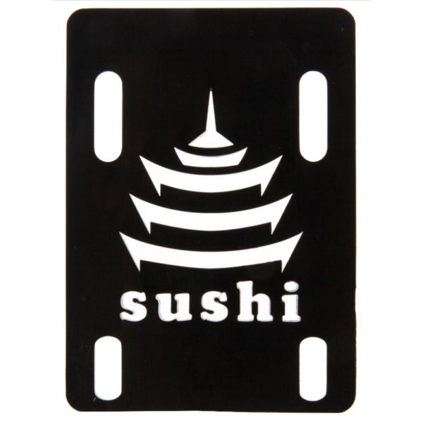 Sushi Pagoda Riser Pads - Black