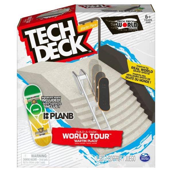 Tech Deck Build a Park: World Tour 3 - Martin Place