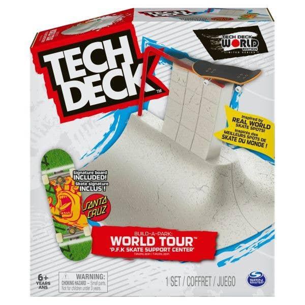 Tech Deck Build a Park: World Tour 3 - P.F.K Skate Support Center