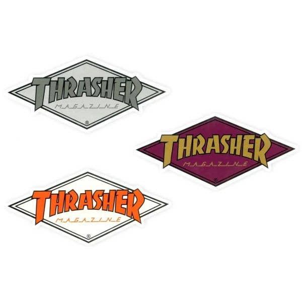 Thrasher Diamond Logo 4.5'' Skateboard Sticker - Random