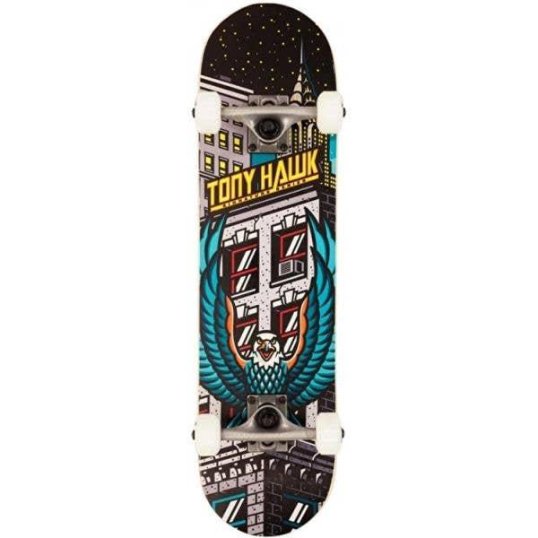 Tony Hawk SS 180 Downtown Mini Complete Skateboard - Multi 7.38''