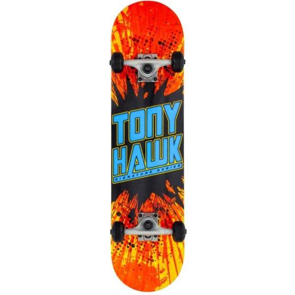 Tony Hawk 180 Shatter Logo Complete Skateboard - 7.75''