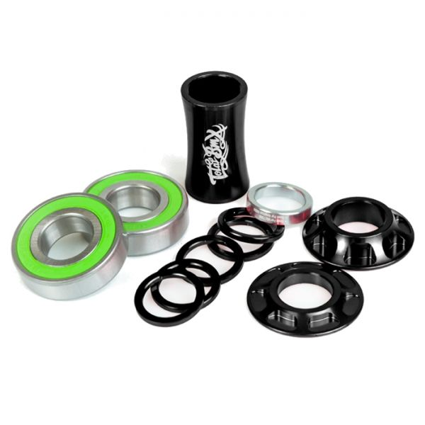 Total BMX Team Mid Bottom BMX Bracket - Black 22mm
