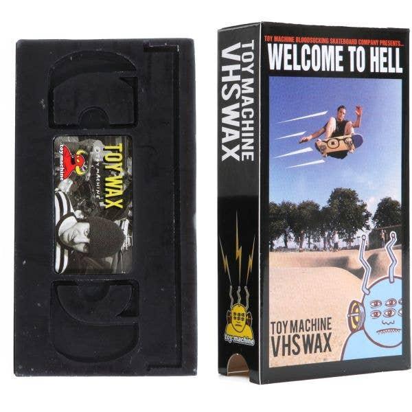 Toy Machine Skateboard Wax - VHS
