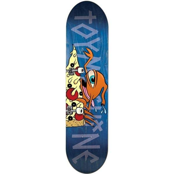 Toy Machine Pizza Sect Team Skateboard Deck - 7.75''
