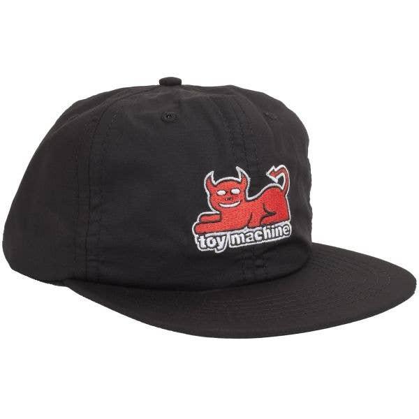 Toy Machine Devil Cat Cap - Black