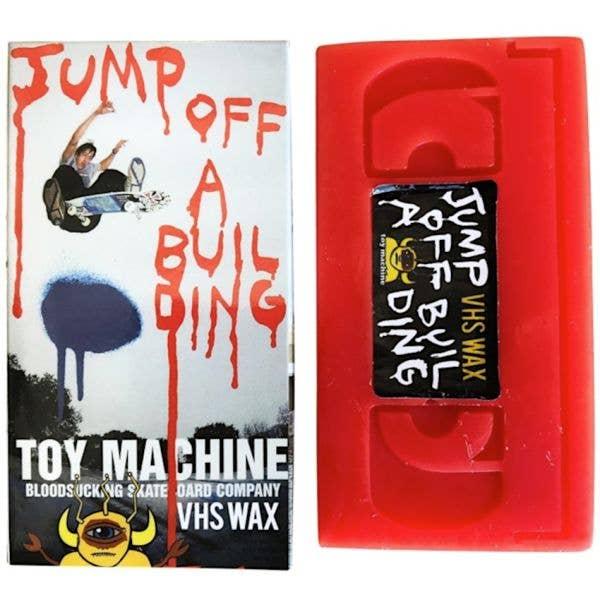 Toy Machine VHS Skateboard Wax - Jump Off A Building