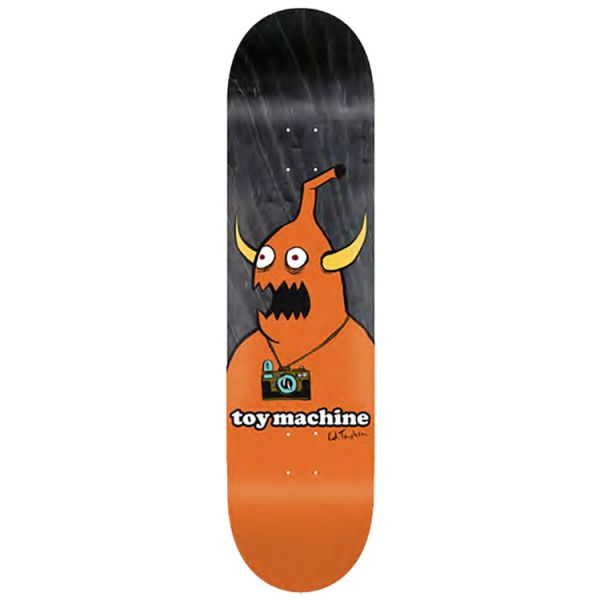Toy Machine Camera Monster Skateboard Deck - Templeton  8.5''