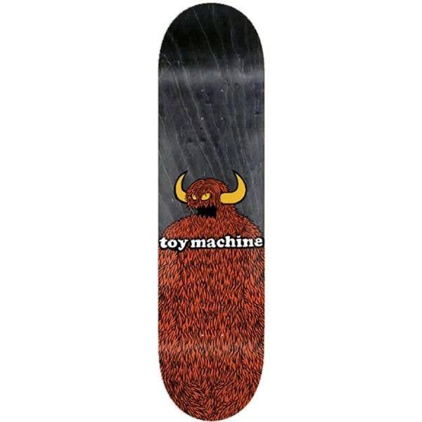 Toy Machine Furry Monster Skateboard Deck - 8.25''