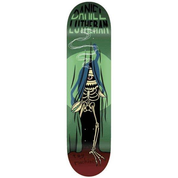 Toy Machine Curtain Skateboard Deck - Lutheran 7.88''