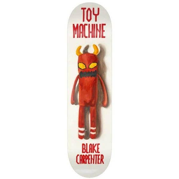 Toy Machine Doll Skateboard Deck - Carpenter 8.38''