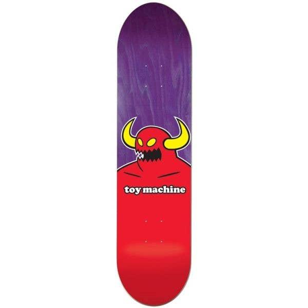 Toy Machine Monster Skateboard Deck - 8.375''