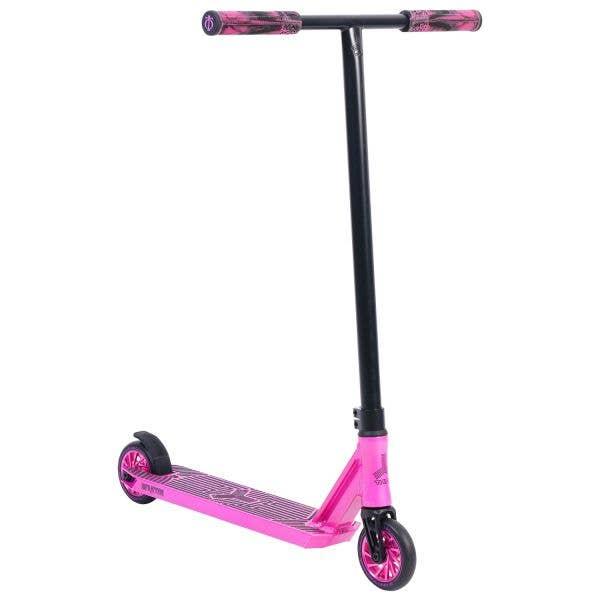 Triad Infraction V2 Stunt Scooter - Pink/Black/Medusa