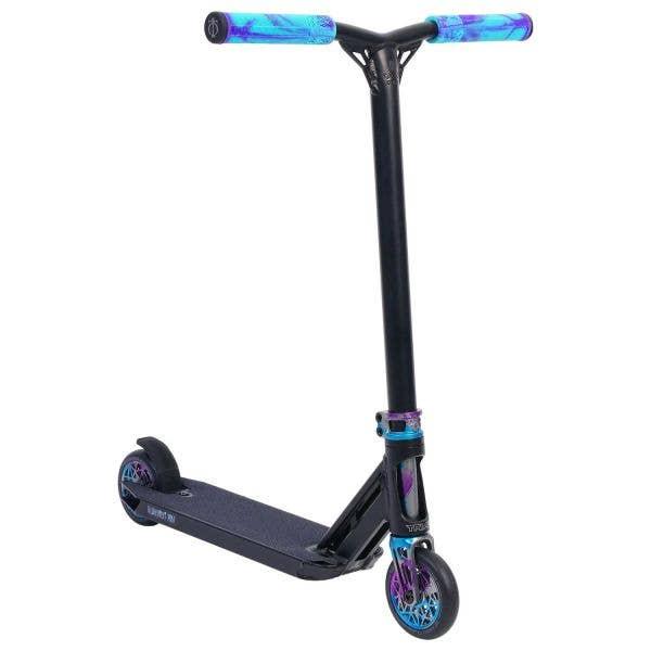 Triad Psychic Delinquent Mini Stunt Scooter - Black/Blue/Purple/Goblin