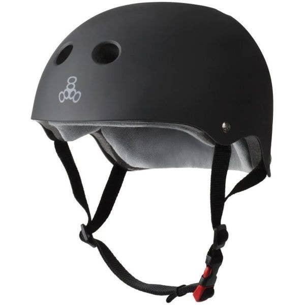 Triple 8 The Certified Sweatsaver Helmet - Black Rubber