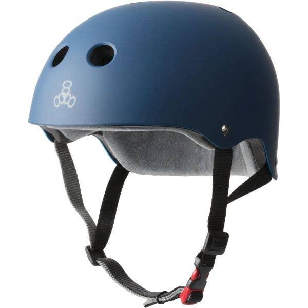 Triple 8 The Certified Sweatsaver Helmet - Navy Rubber