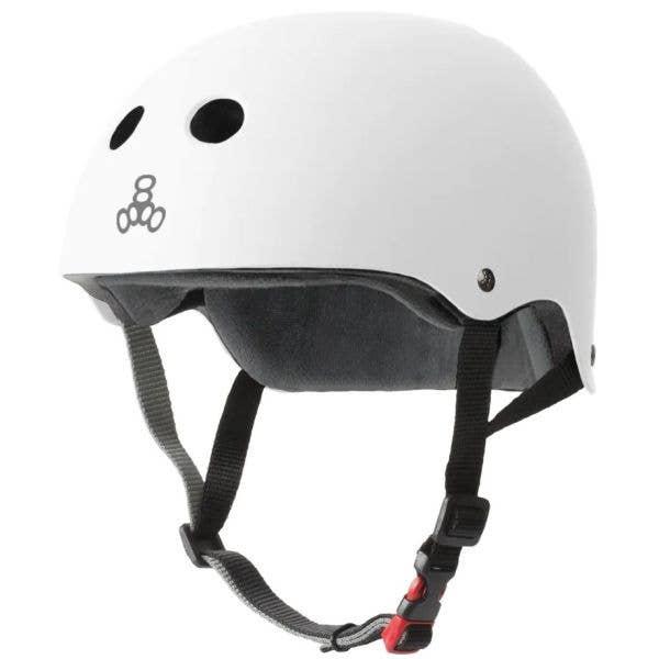 Triple 8 The Certified Sweatsaver Helmet - White Rubber