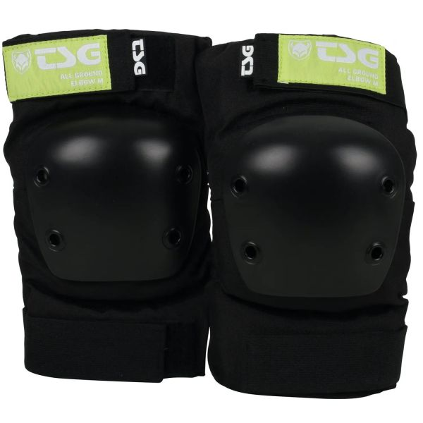 TSG All Ground Elbow Pads - Black