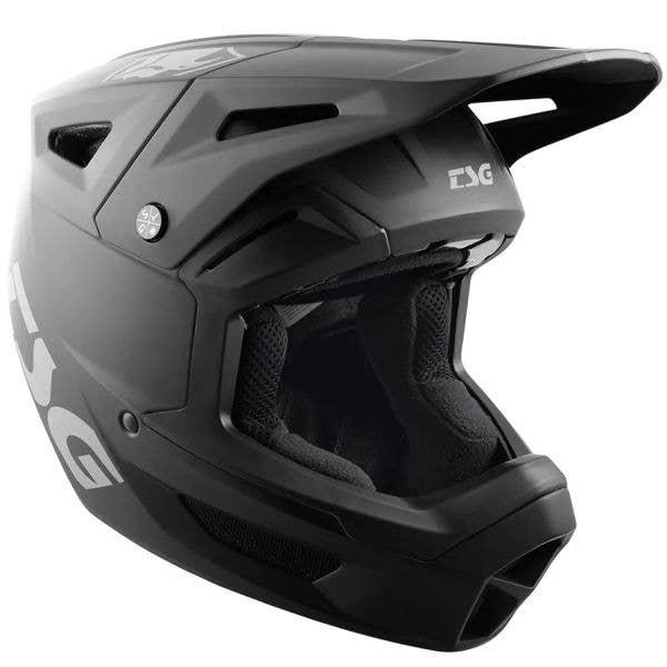 TSG Sentinel Full Face Helmet - Satin Black