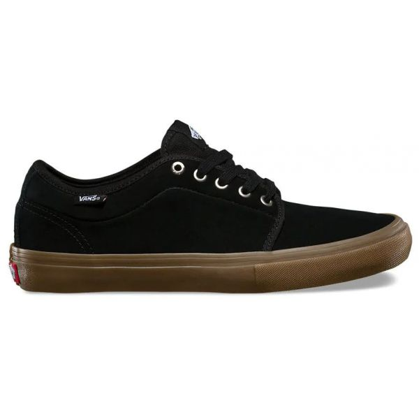 Vans Chukka Low Pro Skate Shoes - Black/Gum