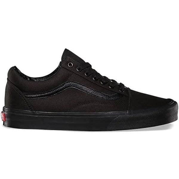 Vans Old Skool Skate Shoes - Black/Black