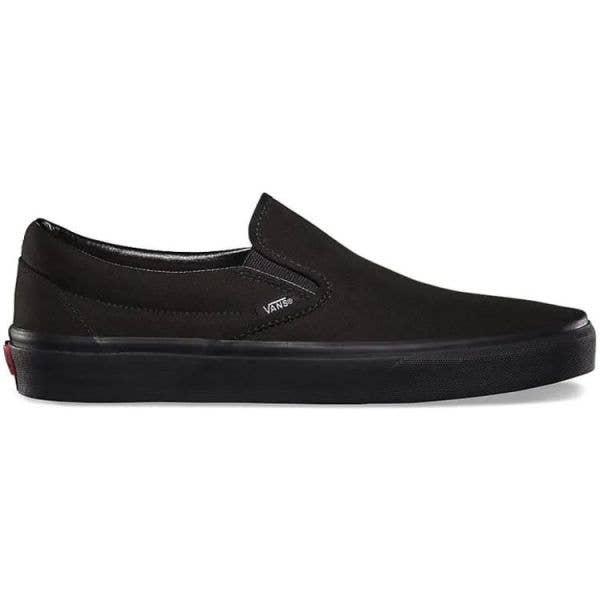 Vans Classic Slip-On Skate Shoes - Black/Black