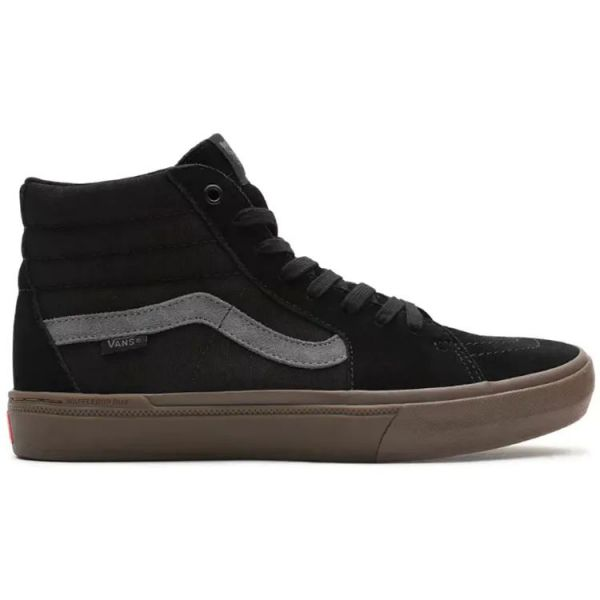 Vans BMX Sk8-Hi High-Top Skate Shoes - Black/Dark Gum