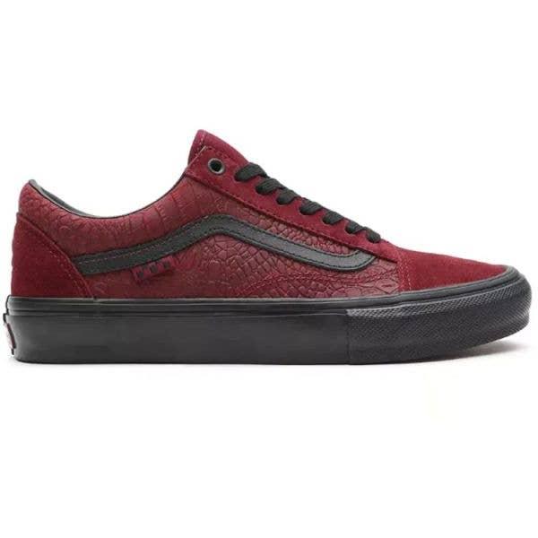 Vans Skate Old Skool (Breana Geering) Skate Shoes - Port/Black
